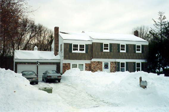 Blizzard of 1996 - Smithtown, NY, January 9, 1996