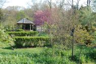 Gazebo and gardens - Sweetbriar Nature Center, Smithtown, NY
