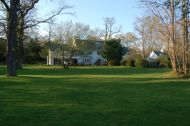 Rear of the main house - Sweetbriar Nature Center, Smithtown, NY